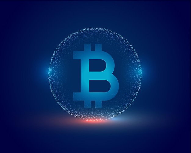 Cryptocurrency concept bitcoin technology background
