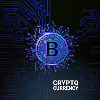 Cryptocurrency  concept