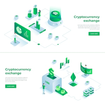 Cryptocurrency exchange and blockchain compositions