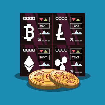 How is cryptocurrency different than stocks