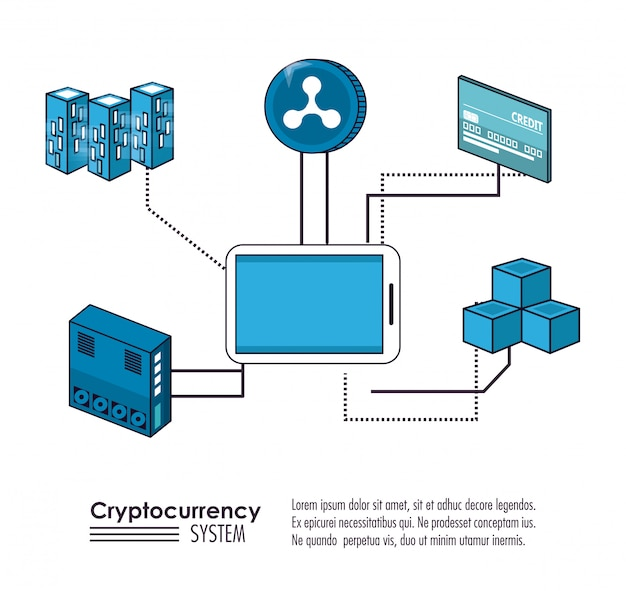 Cryptocurrency system and market place banner
