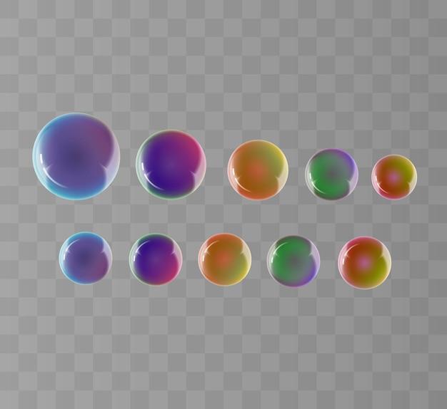 Набор хрустальных шаров Premium векторы