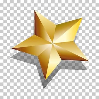 Crystal christmas star ornament