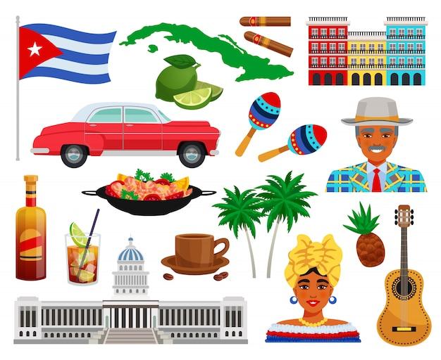 Cuba travel set