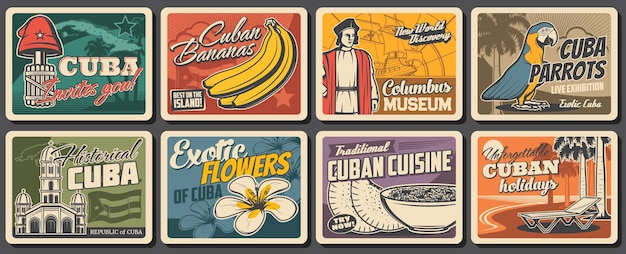 Cuban travel, food, nature and culture
