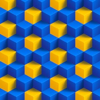 Куб фон