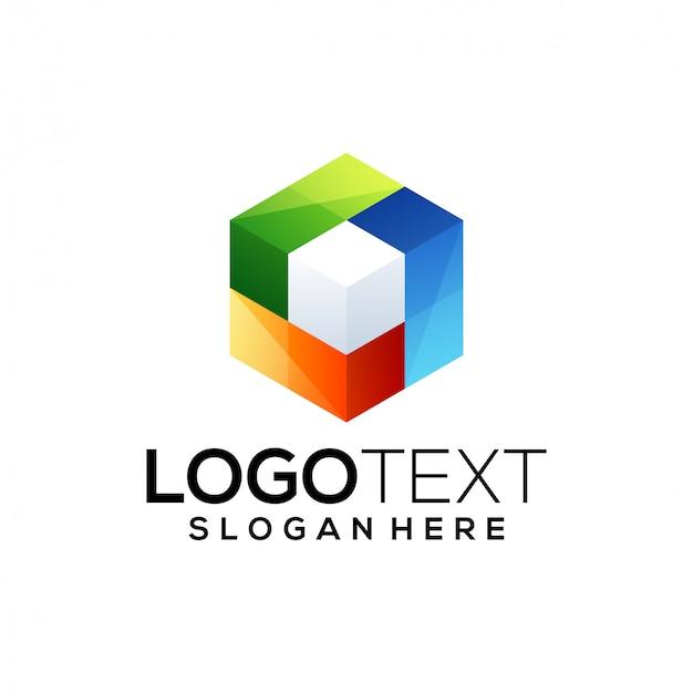 Cube logo   template