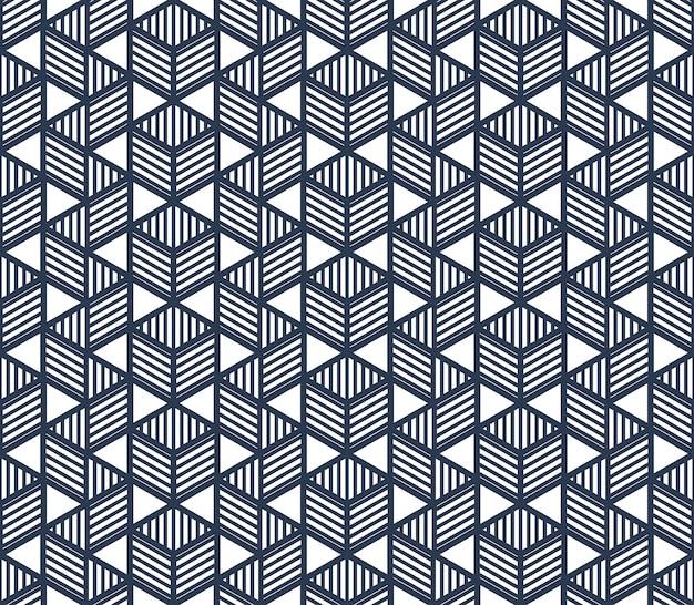 큐브 패턴 디자인
