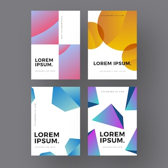 Cubes and circular shapes covers