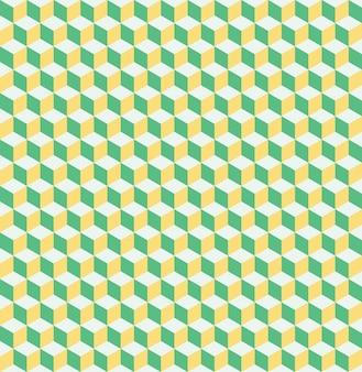 Cubes pattern. geometric simple background. creative and elegant style illustration