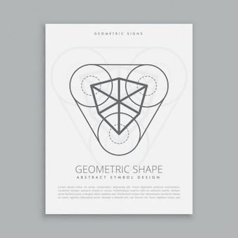Cubical sacred geometric figure