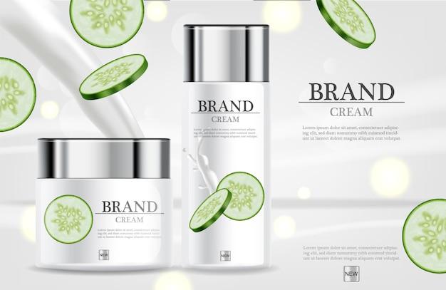 Cucumber cream moisturizer