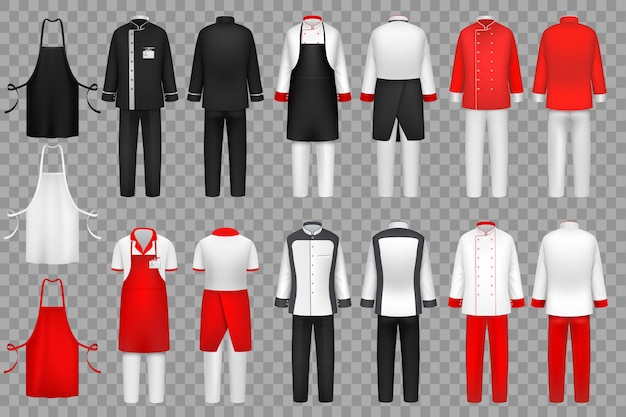 Culinary clothing set