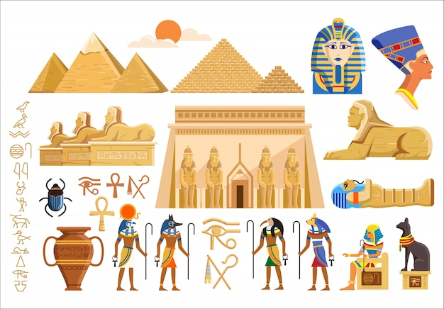 Cultural symbols of ancient egypt
