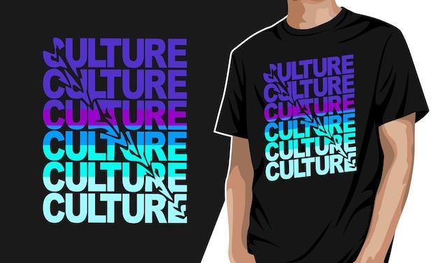 カルチャー-プリント用グラフィックtシャツ