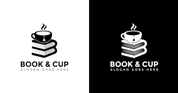 Cup and book logo