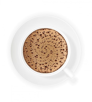 Cup of coffee crema