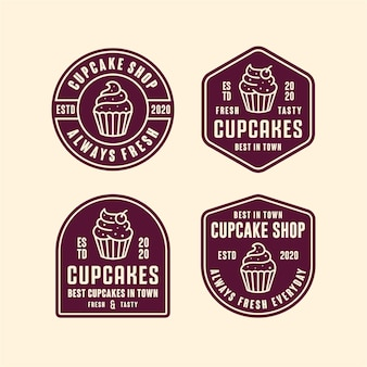 Cupcakes shop  logo
