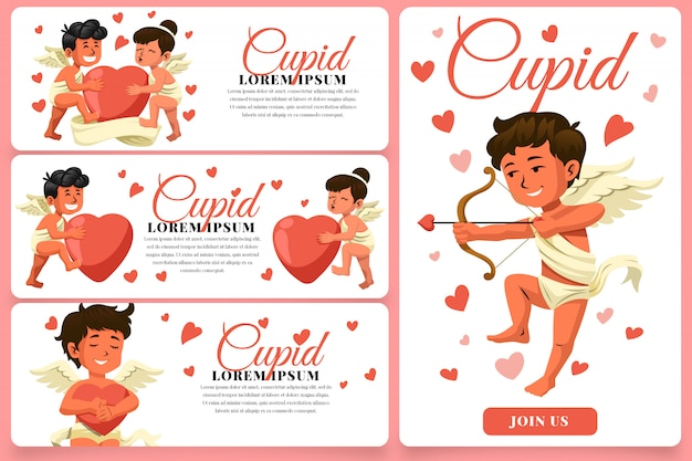 Cupid banners