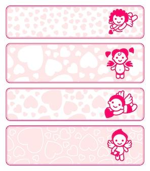 Cupids banner set