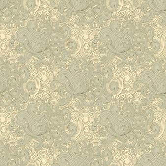 Curly drawn pattern