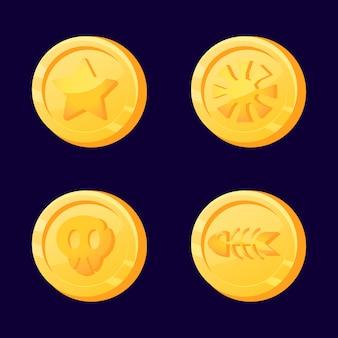 Значок монеты валюты