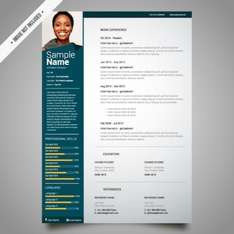 Curriculum template design
