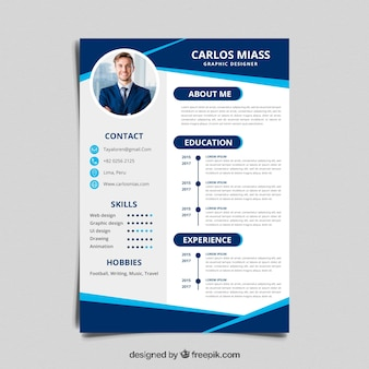 Cv Templates Vectors Photos And Psd Files Free Download