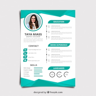 Cv Design Vectors Photos And Psd Files Free Download