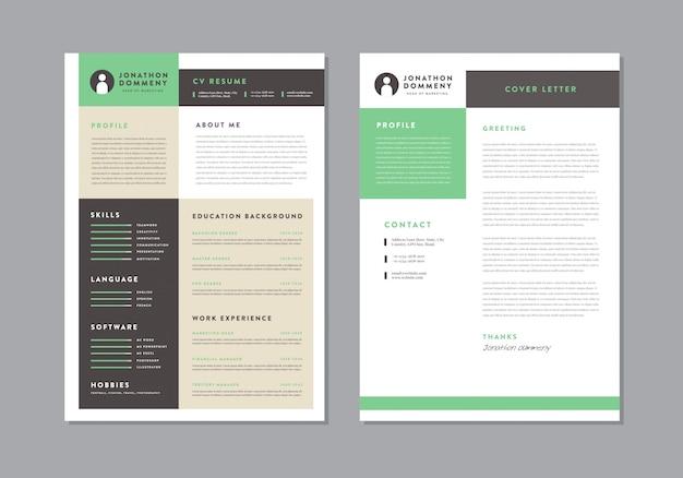 Curriculum vitaecv resume template design | personal details for job application