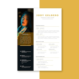 Curriculum vitae template looking for jobs
