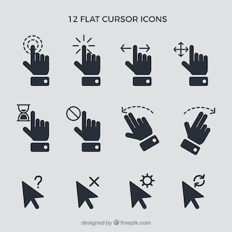 Cursor and hand set