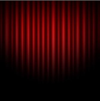 Curtain abstract of red background