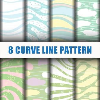 Curve line pattern