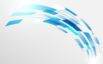 Curve motion technology digital hi tech concept background