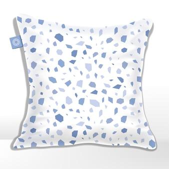 Подушка или подушка с рисунком из мозаики, камня, гранита или камня