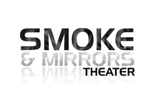 Custom built magic theater logo design