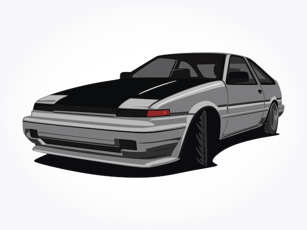 Custom car  illustration