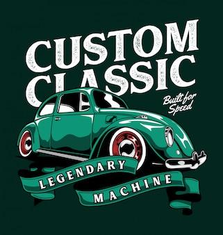 Custom classic beetle