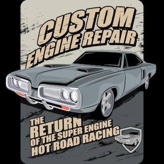 Custom engine repair