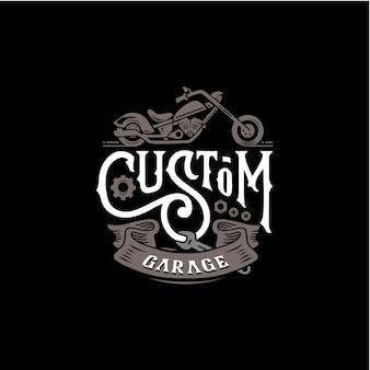 Custom garage motor poster