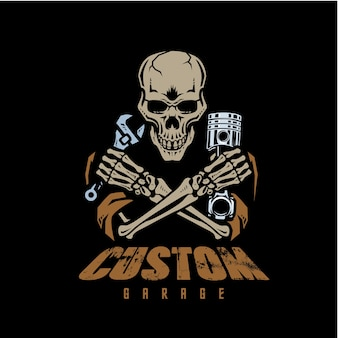 Custom garage poster