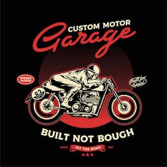 Custom motor racer
