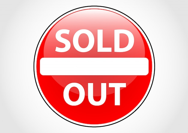 Custom sign soldout