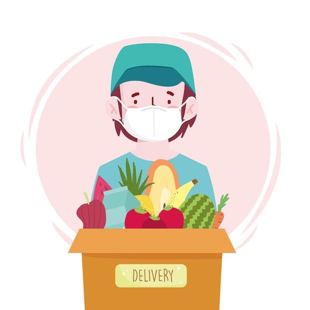 Customer box grocery