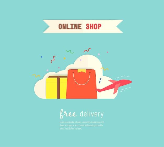 Customer online shopping.