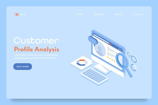顧客プロファイル分析