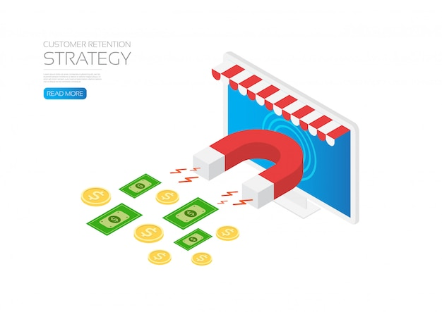 Customer retention strategy template