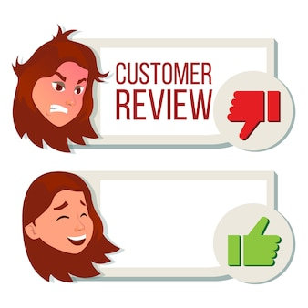 Customer review, positive, negative review.
