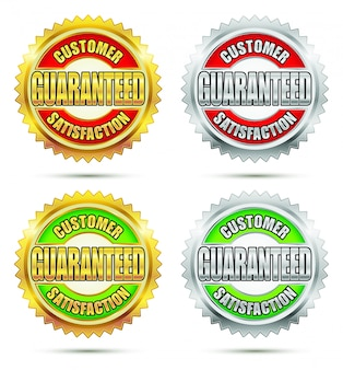 Customer satisfaction guaranteed seal